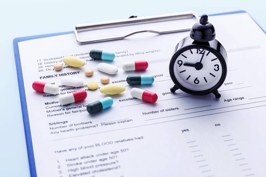 ED治療薬の種類ごとに使用禁忌薬は異なる